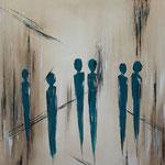 NewYork, 50 x 50 cm, Acryl auf Leinwand