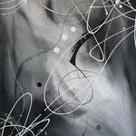 Schattenverwandlung, 60 x 80 cm, Acryl auf Leinwand