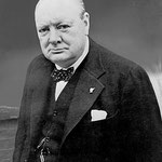 Churchill (1874-1965), Premier ministre britannique en 1940