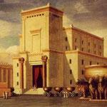 Le second temple reconstruit par Hérode le Grand (1e siècle avant notre ère)