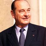 Jacques Chirac (1932-), président de la République de 1995 à 2007