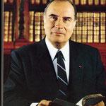 François Mitterrand (1916-1996), président de 1981 à 1995