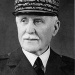 Pétain (1856-1951), chef de l'Etat français en 1940