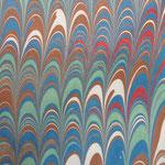 Marmorpapier (Bild: Thomas Waibel/Polygraphicae)