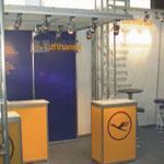 Messestand Lufthansa, Köln