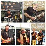 ROOM 207 Zürcher Bluesband - Rock&Oldie Hall und jb`s Torpedo Dart-Club am Dorffest Dübendorf, 04.09.2016