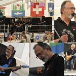 ROOM 207 Zürcher Bluesband - Schützenfest Tennwil 15.06.2014, Hallwilersee, Meisterschwanden - Franz (Fräse) Varga