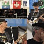 ROOM 207 Zürcher Bluesband - Schützenfest Tennwil 15.06.2014, Hallwilersee, Meisterschwanden - Kurt (Küde) Zaugg