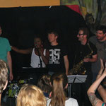 STROMBAUAMT mit Marjorie Etukudo/voc, Tom Müller/sax, Otto Scheidl/bass, Peter Barborik/drums, Georg Henke/keys