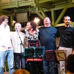 JAZZTAGE, Baden - mit Stella Jones/voc, Peter Natterer/sax, Otto Scheidl/bass, Peter Barborik/drums, Georg Henke/keys