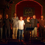 Local Bar/running hybrids - Tommy Böröcz/dr, Volker Wadauer/bass, Georg Henke/keys, Edi Köhldorfer/guit, Stella Jones/voc, Peter Natterer/sax, Manfred Franzmeier/sax