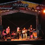 CITY STAGE, Wr. Neustadt mit Alienne Fromvenus/voc, Otto Scheidl/bass, Peter Natterer/sax, Peter Barborik/drums, Georg Henke/keys, David Strohmeier/guit