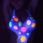 Swimsuit Fluor Party-UV light