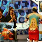 """Homenaje a Pamela Anderson - """"El grito"""" de Munch - Fish Face. El Hormiguero de CUATRO TV"""
