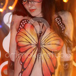 Butterfly Body Paint Brasa de Mar, Valencia 2008