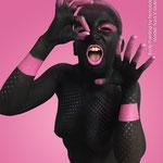 Body Painting Black & Pink