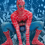 "SPIDERMAN Body Painting. ""Sorpresa, sorpresa"". Antena 3 TV"