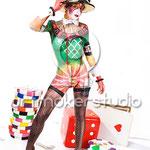 "Body Painting 1er premio semifinal FIKAE 2008 ""LUCKY GIRL"""
