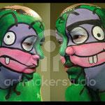 """Maquillaje facial """"Trancas y Barrancas"""" para Jandro en El Hormiguero. CUATRO tv"""