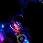 Painting UV Ganesh.  Fluor Party Teatro Barceló Madrid