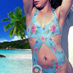 Body Painting Summer Swimsuit