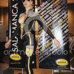 Body Paint para MIDAS en el Museo del Automovil Salamanca´07