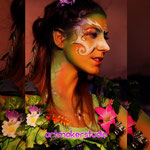 Body Painting Fairy Canon Evento Full Frame Festival