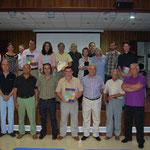 Colaboradores y representantes de las instituciones