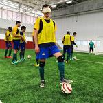 Ricardo Steinmetz Alves, o Ricardinho, giocatore brasiliano non vedente al Calcio a 5