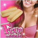 F-cup cookie