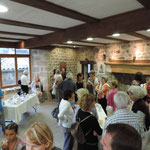 le buffet du vernissage