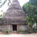 Musée térritorial, case traditionelle kanak