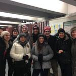 Dans le métro de Montréal - Janvier 2016