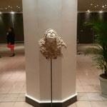 Sculpture réalisée durant le séjour par Adrien Porcu