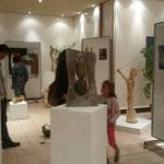 Sculpture réalisée durant le séjour par Patrice Renard