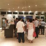 Soirée Corse, finissage de l'exposition artistes Corses et Calédoniens