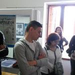 Visite du musée de la résistance à Zonza mars 2015