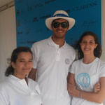 Accueil des spectateurs au Classic Tennis Tour - mai 2015
