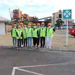 visite de l'usine de nickel de la SLN