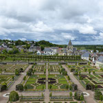 l'atelier : le long des jardins du château de Villandry