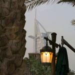 Ein Blick auf Burj Al Arab Dubai © Stefan Czech