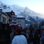 Père Noël à Chamonix