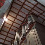 Details zur Wilhelm-Orgel in der Stiftskirche Kaufungen
