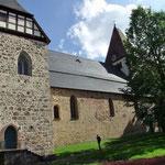 Stiftskirche Kaufungen mit der Wilhelm-Orgel