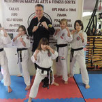 Zwarte bandhouders gastles Shaolin Kempo in Bridlington Martial Arts & Fitness Centre 13 februari 2016