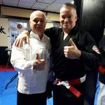 Met sifu Alberto Marletta uit Zwitserland