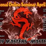 Deelname aan International online seminar, 25 april 2020.