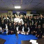 Dschero Khans 80-jarig vechtkunstjubileum op 27 januari 2018 in Erkelenz (D).