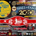 Award Hall of Fame, 25 april 2020.