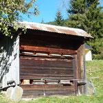 Rucher couvert Haut Savoyard à Megève